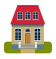 House front view vector image vector image