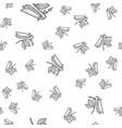 pea pod bean seamless pattern sketch vector image vector image