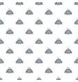 retro christmas gift pattern seamless vector image