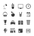 Room Icons Set vector image vector image