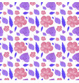 seamless background design with purple and pink vector image vector image