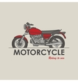 Vintage bike logo vector image vector image