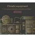 Climatic equipment concept vector image