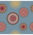 flower pattern background seamless vector image vector image