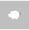 money box computer symbol vector image