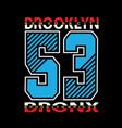 new york real cartoon shirt design vector image vector image