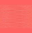 rippling curved stripes horizontal lines pattern vector image