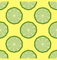 seamless pattern of finger lime slices vector image vector image