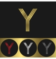 Y Letter logo vector image