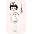 Attractive nurse vector | Price: 1 Credit (USD $1)