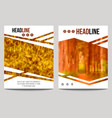 business brochure design template with blur vector image vector image