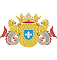 coat of arms of lelystad of netherlands vector image vector image