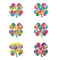 Colorfull Abstract Flower vector image vector image