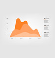 diagram elements color infographics some of chart vector image vector image