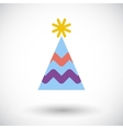 Holiday cap vector image vector image