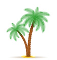 palm tree 07 vector image vector image