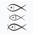 Abstract Fish vector image