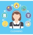 Cleaning Concept vector image vector image