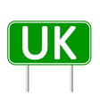 Great Britain road sign vector image vector image