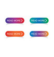 read more colorful button se vector image