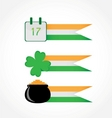 St Patrick's Day banners vector image vector image