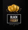 black friday trendy sale design template vector image vector image