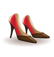 High heels vector image