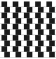 Optical - parallel lines made from black vector image vector image
