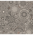 Ornamental vintage Floral elements seamless vector image