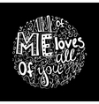 Vintage wedding font vector image vector image