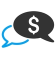 Wire Transfer Flat Icon vector image vector image