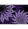 Abstract Flowers Wallpaper vector image