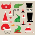 christmas clothes vector image vector image