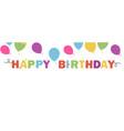 Happy birthday banner background