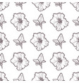 petunya seamless pattern of flowers vector image vector image