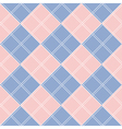 Rose Quartz Serenity Diamond Chessboard vector image vector image