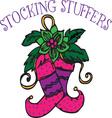 Stocking Stuffers vector image vector image