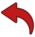 Undo Toolbar Icon vector image vector image