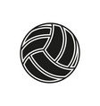 Volleyball ball icon on white background