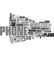 wireless phone plans how to compare wireless vector image vector image