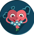 loving heart vector image