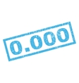 0000 Rubber Stamp vector image vector image