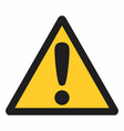 attention symbol vector image
