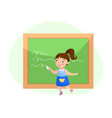 back to school education or knowledge concept vector image vector image