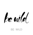 Be wild template