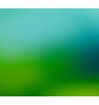 Green blurred halftone background vector image vector image