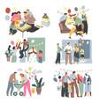 kid birthday celebration and festivity vector image