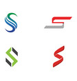 s logo and symbols template icons vector image vector image