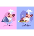 Funny cook character Isolated vector image