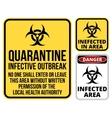 quarantine vector image